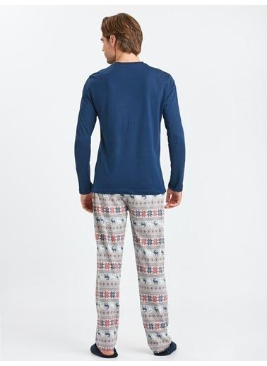 LC Waikiki Pijama Takım Lacivert